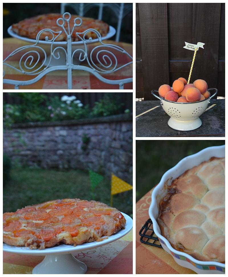 Aprikosen Tarte Tatin