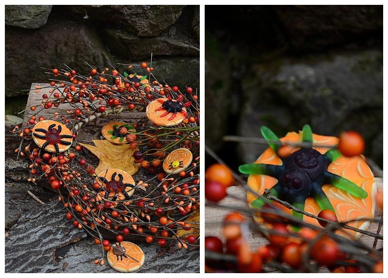 Halloween Kekse Spinnen