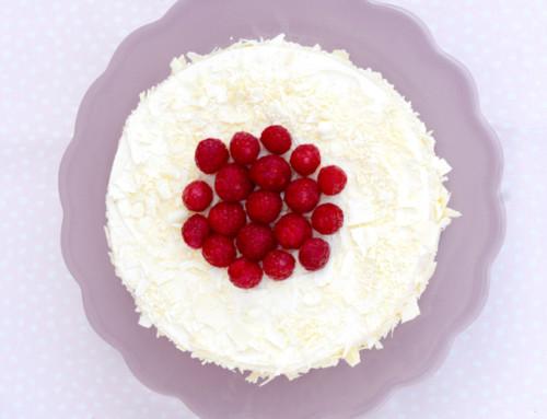 Himmlischer Himbeer-Cheesecake mit weißer Schokolade