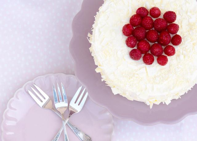Himmlischer Himbeer Cheesecake Mit Weisser Schokolade