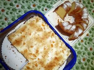 fanta kuchen mit pfirsich..