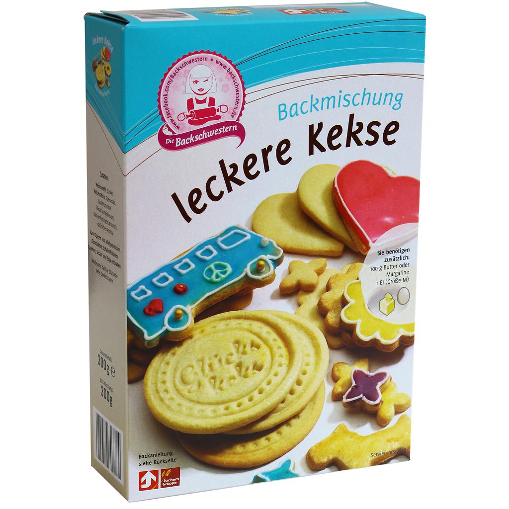 Backmischung für Kekse