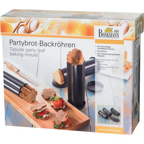 RBV Birkmann- Partybrot-Backröhren, 3tlg.1