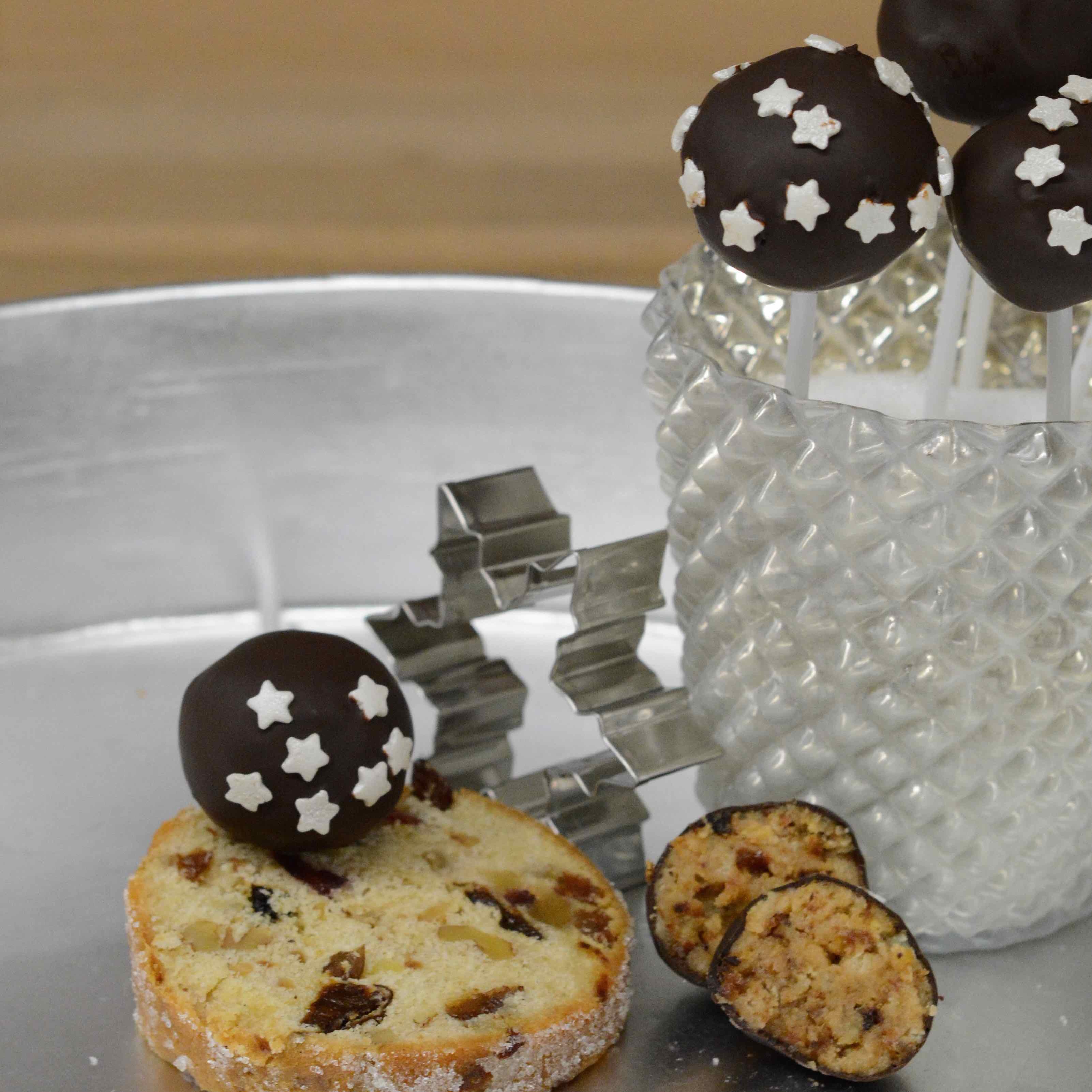 Stollencakepops Stollen Cakepops