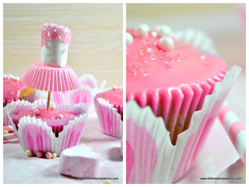 kekskr mel und kuchenduft ballerina muffins nicht nur f r kleine m dchen die backschwestern. Black Bedroom Furniture Sets. Home Design Ideas