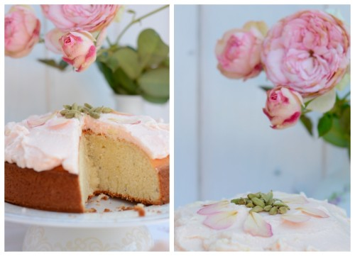 Lassi Kuchen Rose Kardamom