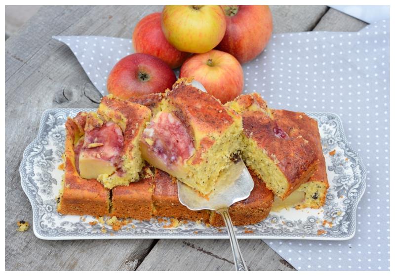 Himmlischer Mohn Marzipankuchen Vom Blech Mit Sanfter Apfelnote