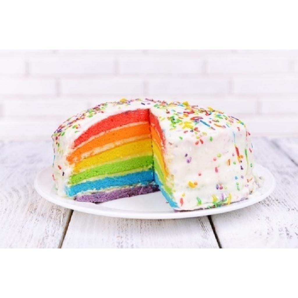 Backkurs für Regenbogenkuchen und Ombre Torte