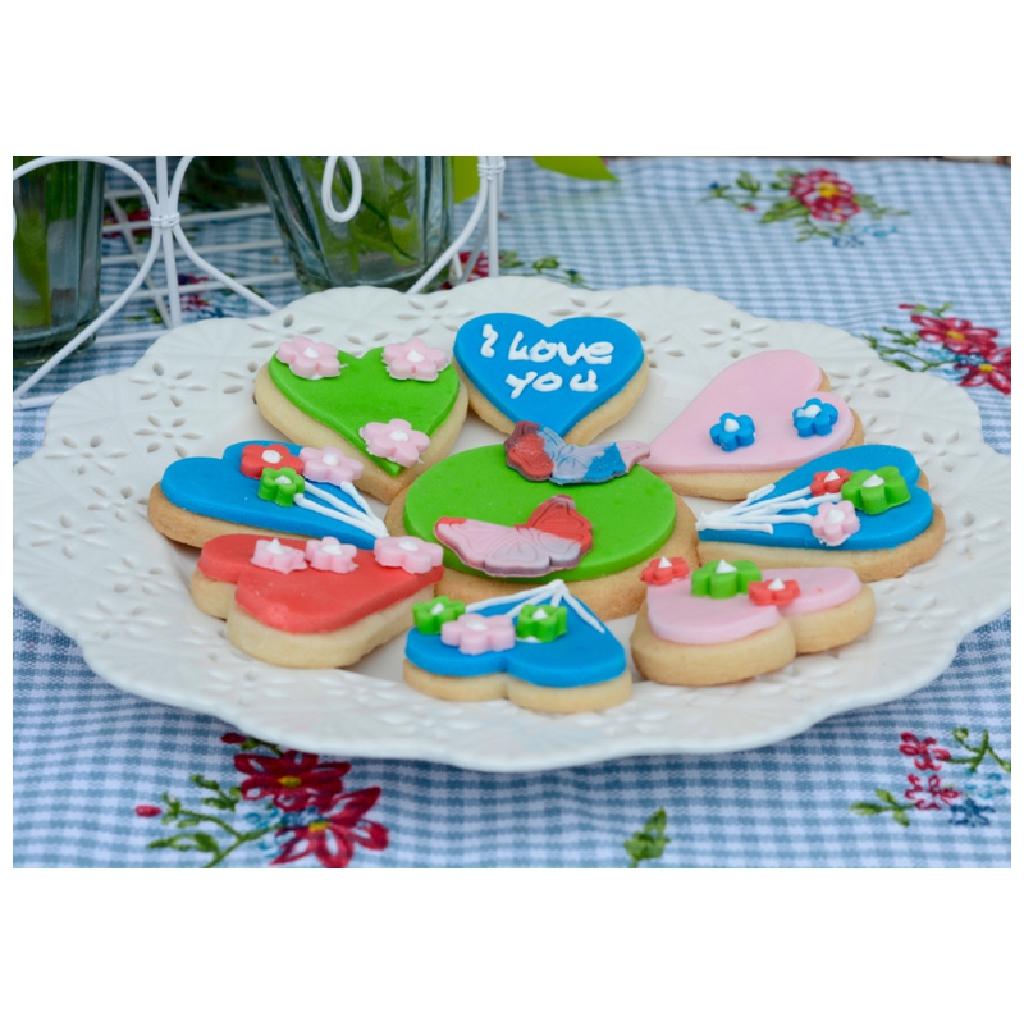 Herzige Kekse zu Muttertag