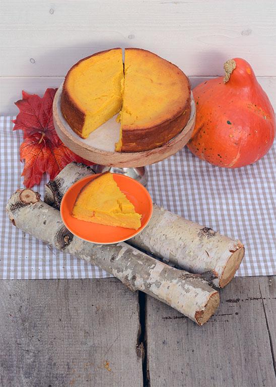 Pumpkin Pie Cheesecake zu deutsch: Kürbis Käsekuchen