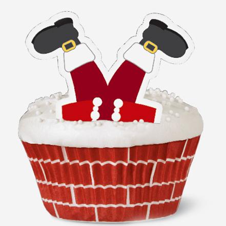 Wilton Cupcake Decorating Kit -Santa-1