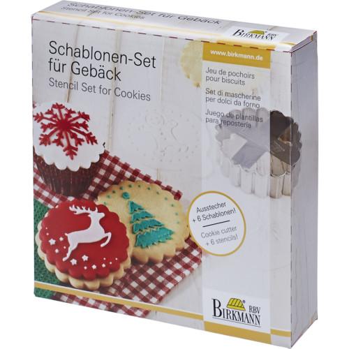 Schablonen-Set für Gebäck1
