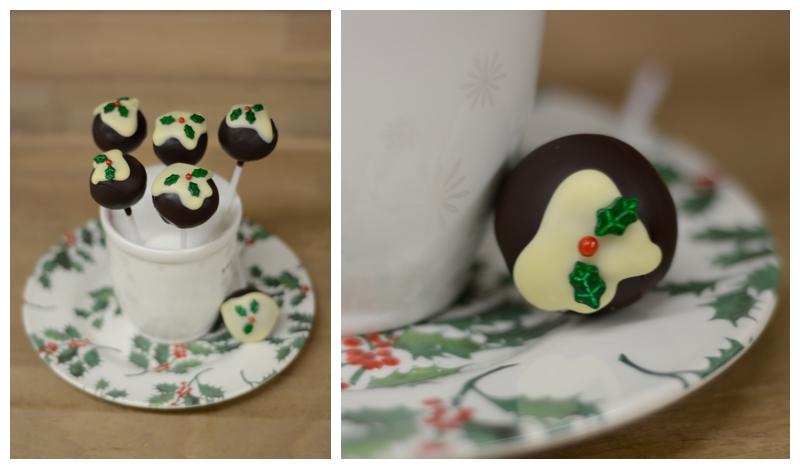 Stechpalmen Cakepops Wilton