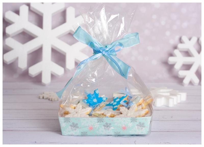 Flocken Schneeflocken Geldgeschenk Verpackung Idee