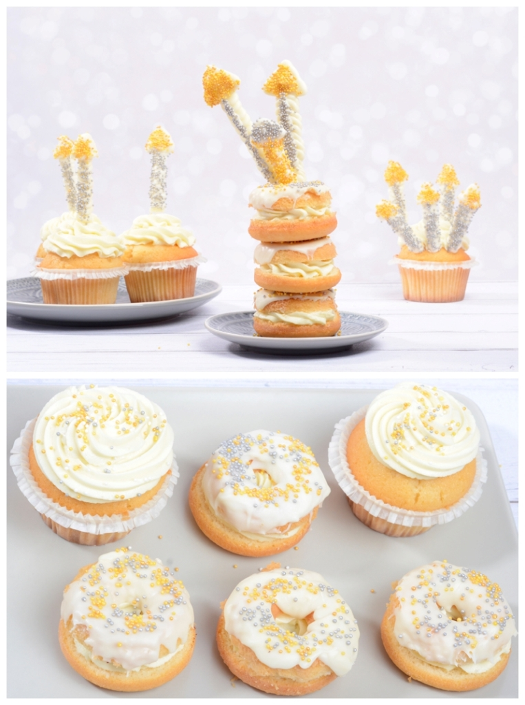 Sekt Cupcakes Donuts