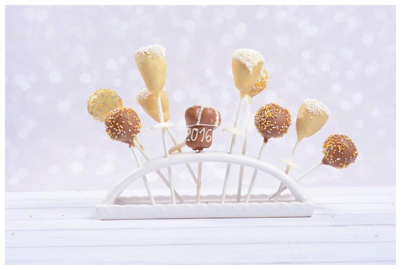 Sektkorken Cakepops Sektglas Sektkelch