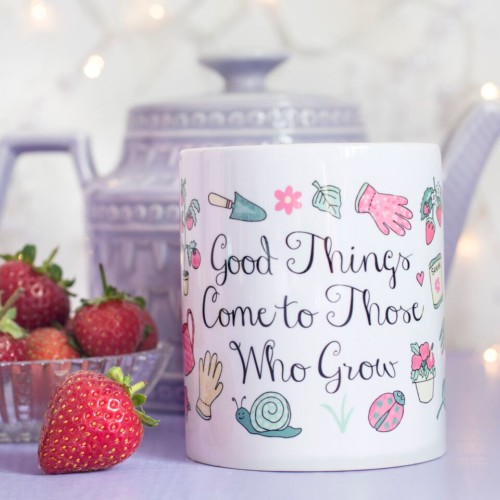 Those Who Grow Quote Mug 1
