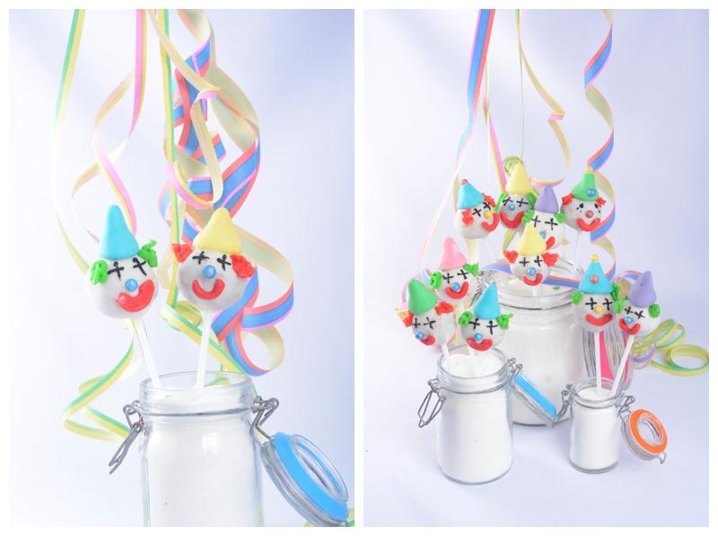 Clown Cakepops