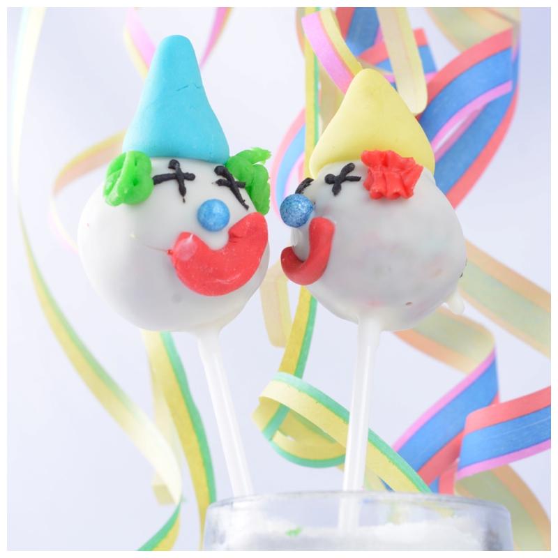 Clown Cakepops Fatnacht Karneval
