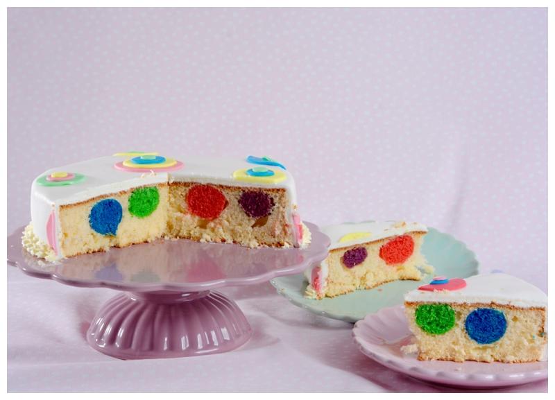 Bällchen Kuchen Überraschungskuchen Fastnachtskuchen Karneval