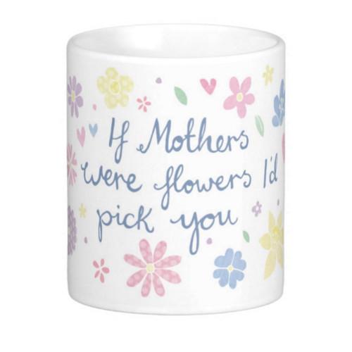 mothers flower - mug - quote - gift Muttertagsgeschenk Tasse JillyJilly