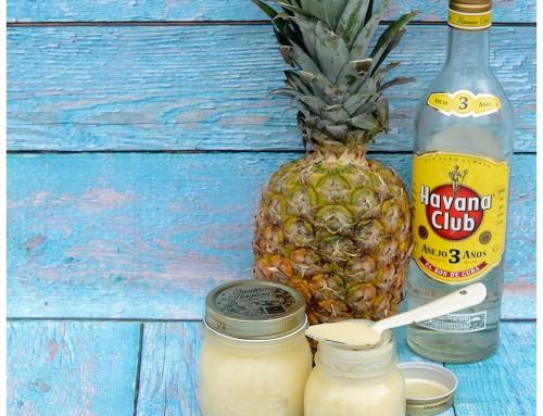 Herrlich fruchtige Piña-Colada-Curd