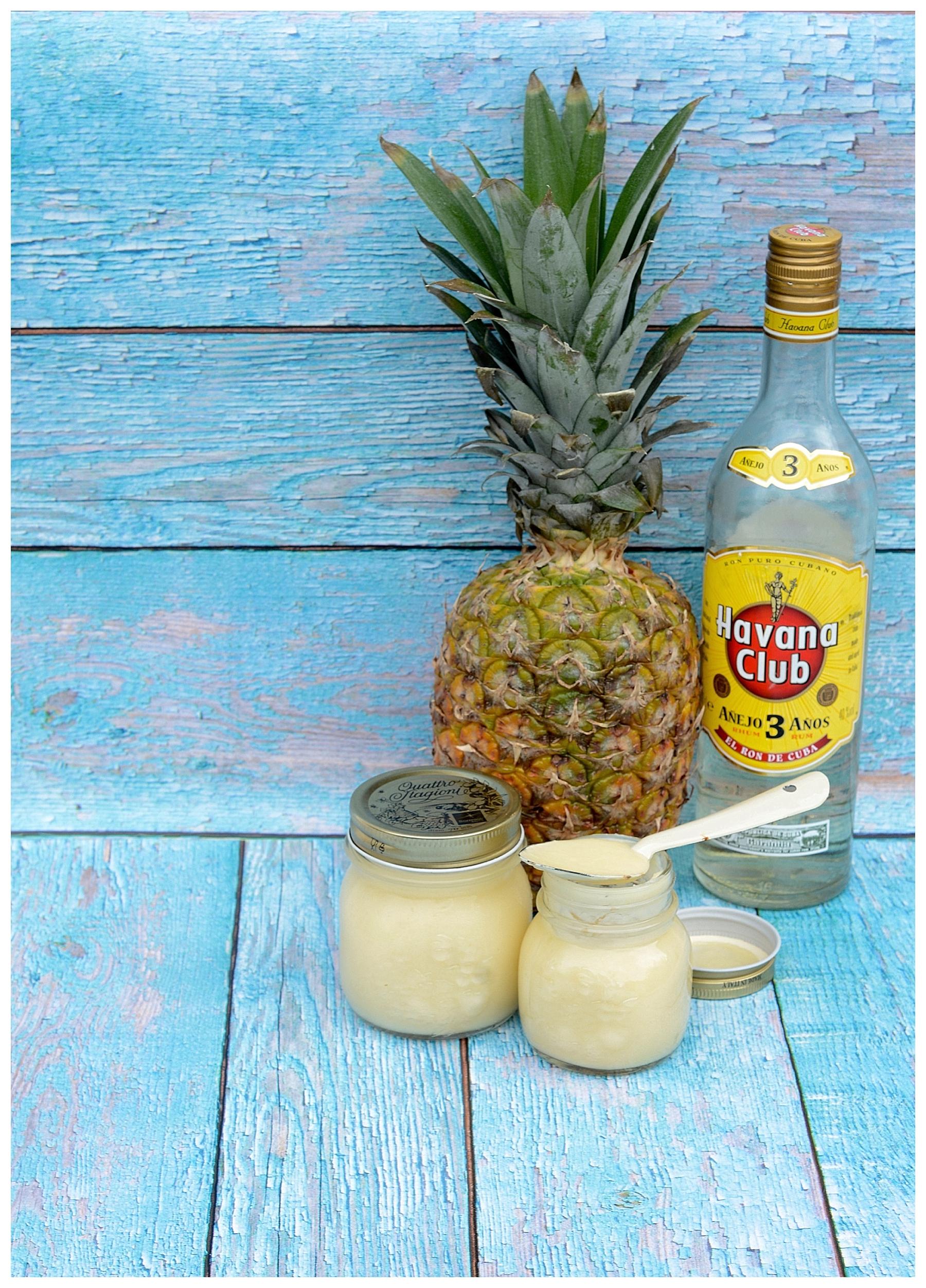 Pinacolada Curd Ananas Kokosmilch