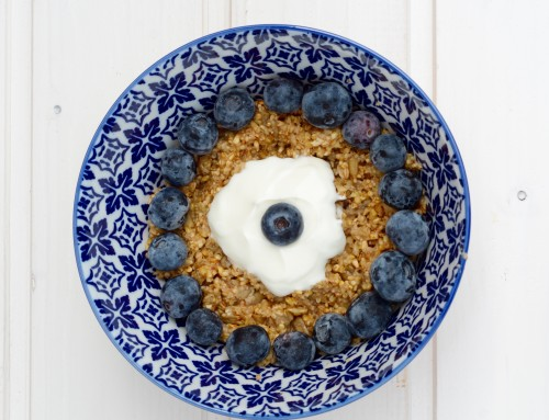 Echt lecker: warmes Frühstück mit Hafergrütze