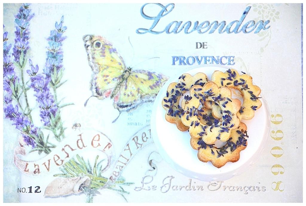 Lavendelkekse