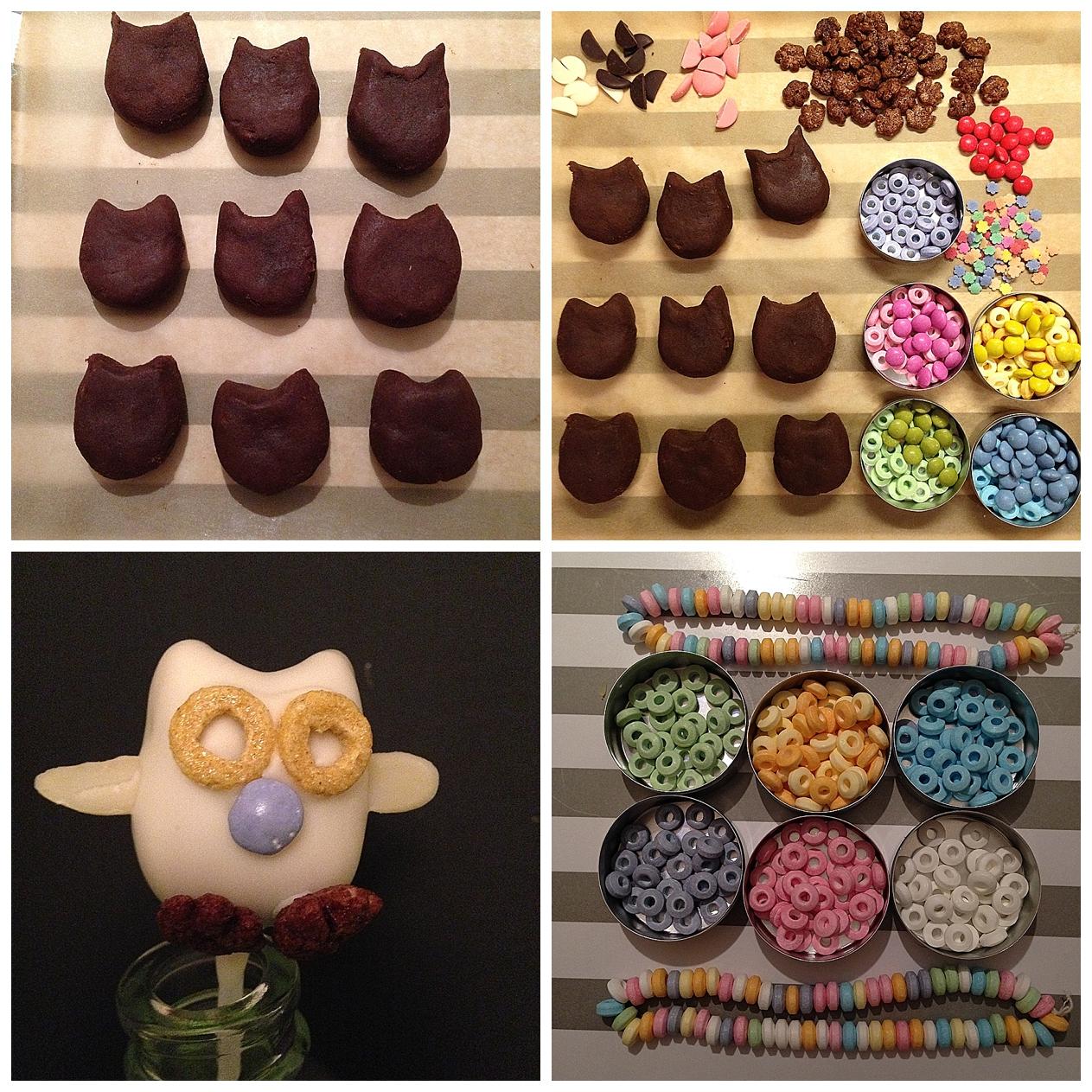 Eulen Cakepops