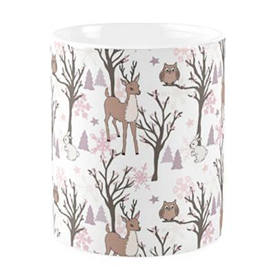 Eule Owl Mug Tasse Winter Christmas Jilly Jilly