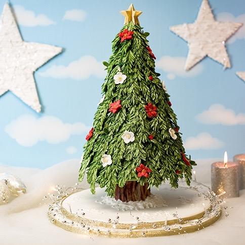 Adventskranz Mould Tannenbaum Weihnachtsbaum