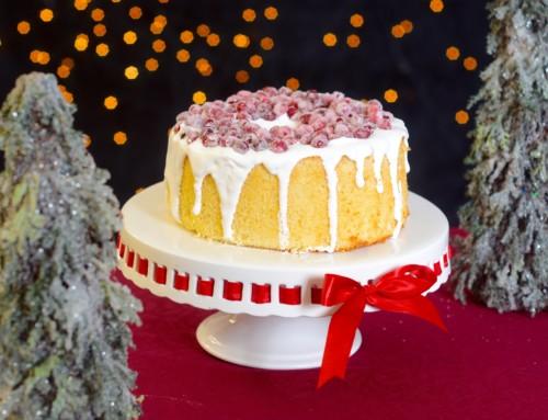 Winterlicher Chiffon Cake