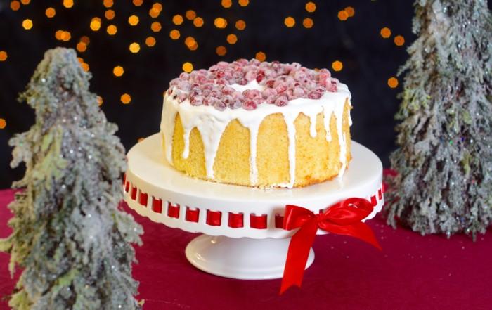 Weihnachtskuchen Cranberries Orangenkuchen