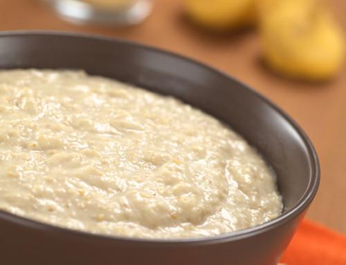 Verliebt in Hafergrütze Teil 1: Porridge mit Salzkaramell im Slowcooker