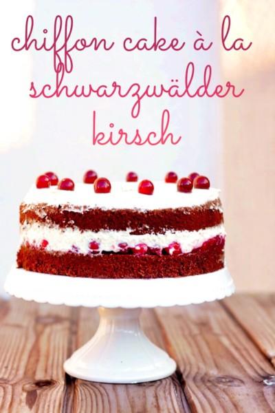 Chiffon Cake Cranberries