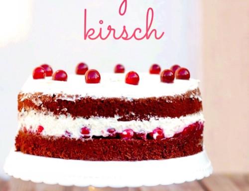 Schokoladig-fruchtig-gut: Chiffon Cake à la Schwarzwälder Kirsch