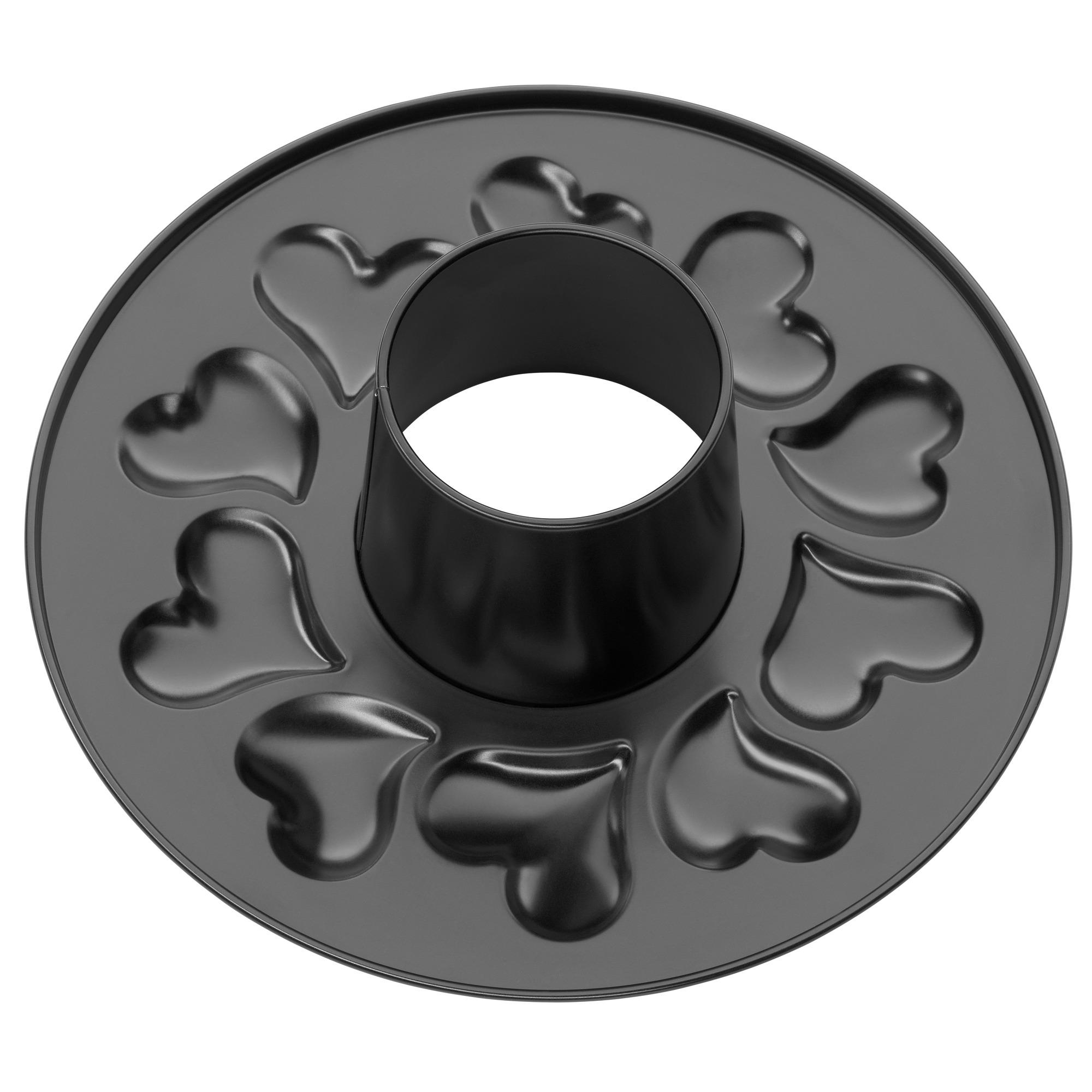 kaiser springform mit herzmotiv rohrboden. Black Bedroom Furniture Sets. Home Design Ideas