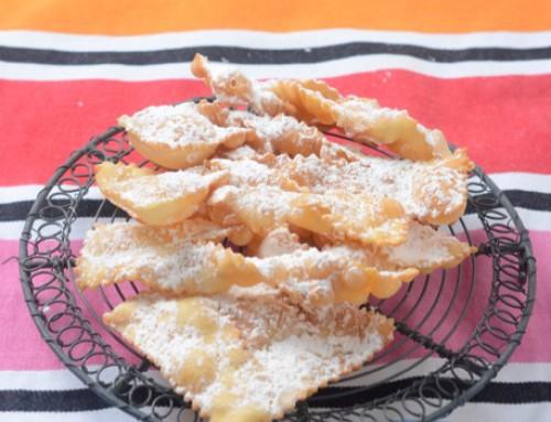Italienische Köstlichkeit zu Fasching: Chiacchiere