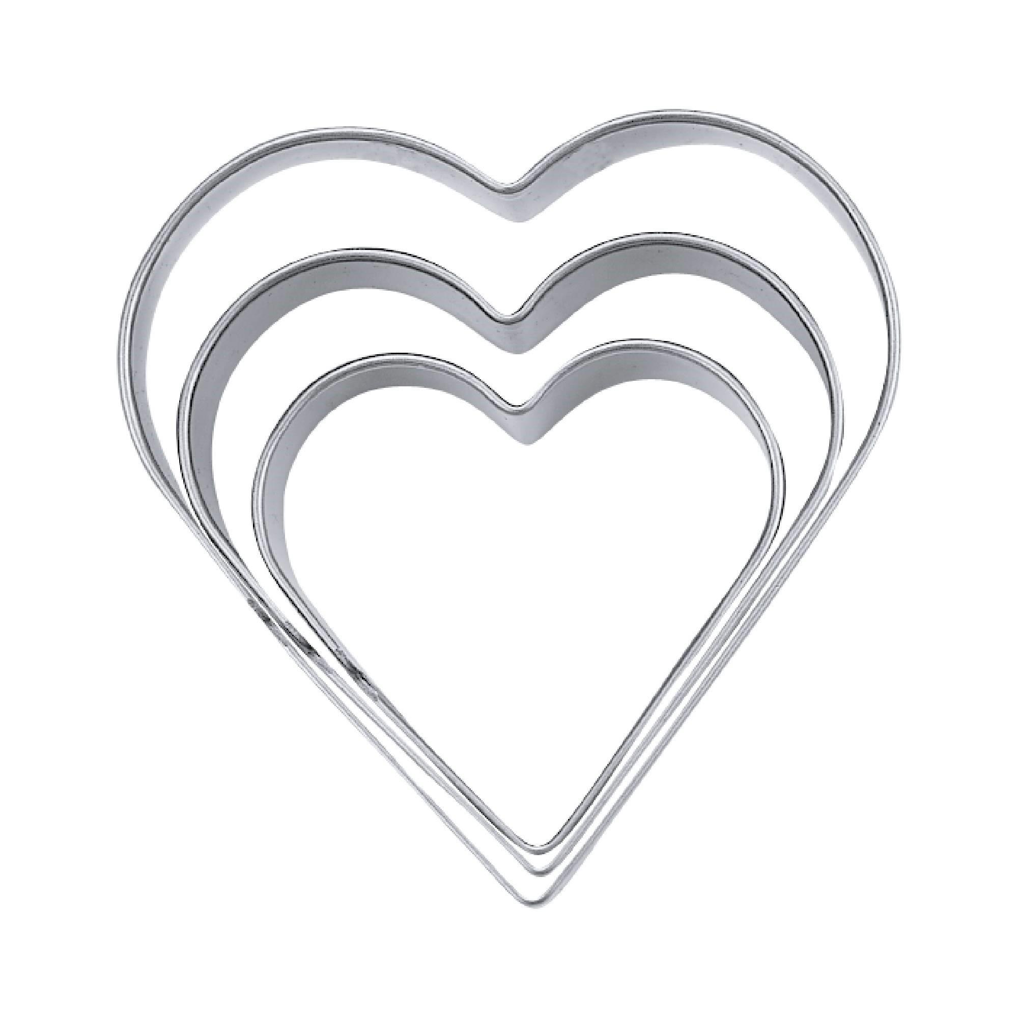 Ausstechform Herz 5,5 cm Ausstecher Städter