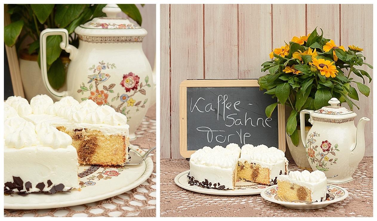 Kaffee-Sahne-Torte