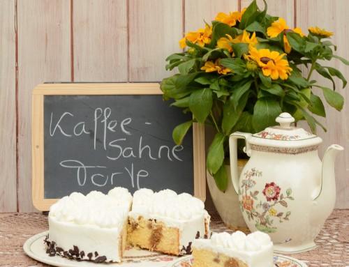 Rezepte von meiner Mama: Die Kaffee-Sahne-Torte