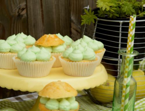 Hex Hex:  fruchtig-frische Waldmeister-Cupcakes