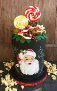 Kurs: Motivtorte* Santa Claus mit Heike Darmstädter @ Backschwesternladen