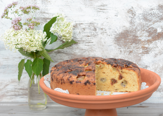 Gooseberry Cake Muscovado Zucker Rührkuchen Stachelbeeren