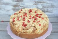 Hefeschnecken Rosenkuchen Johannisbeerschnecken Streuselkuchen
