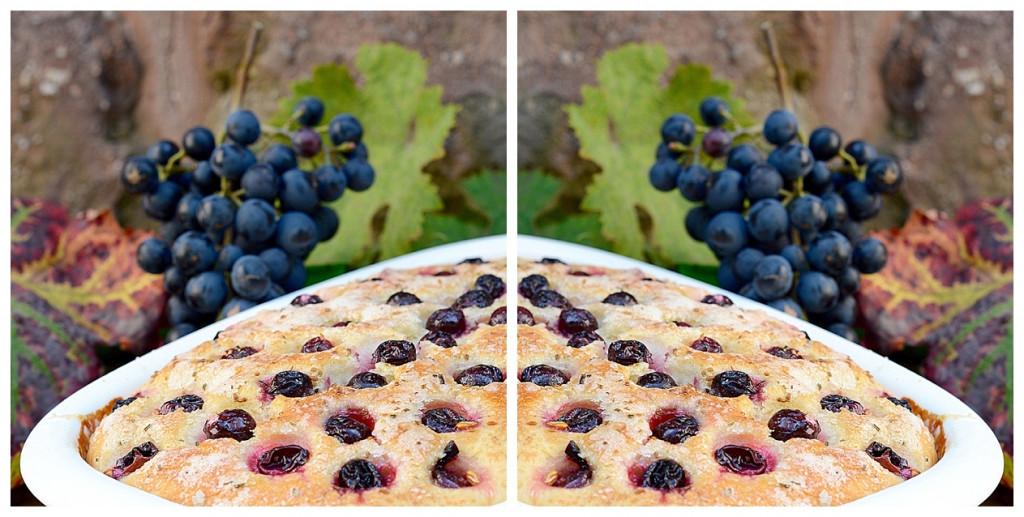 Trauben Focaccia Traubenbrot Italienisches Rezept Blogparade Bella Italia