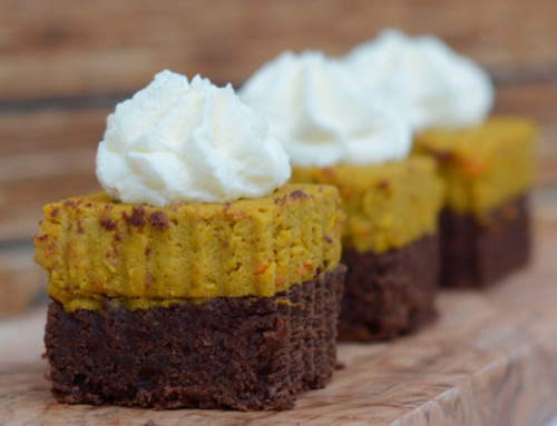 Himmlisch saftig: Pumpkin Pie Spice Brownies