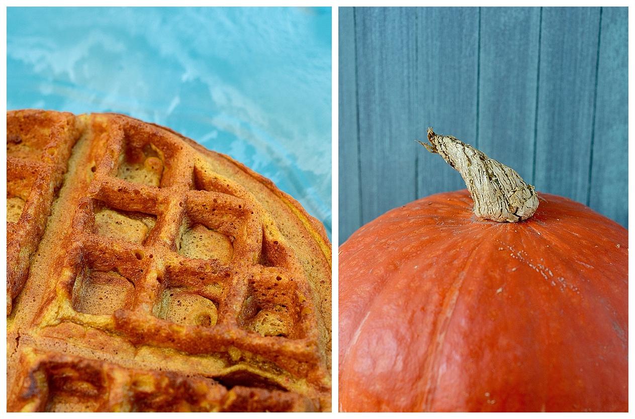 Pumpkin Pie Spice Waffles