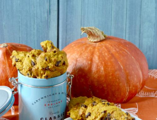 """Unsere Antwort auf """"Trick or Treat""""? Ganz klar: Pumpkin Spice Cookies!"""
